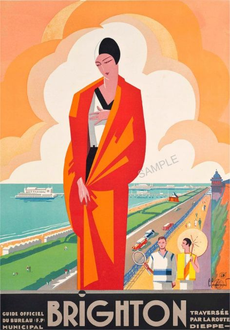 Brighton Art Deco French